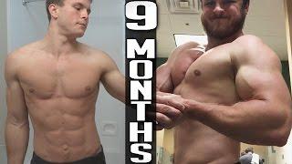 9 Months Bodybuilding Transformation | +20 lbs (Hercules 9)