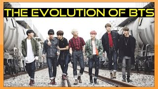 EVOLUTION OF BTS (방탄소년단) - Tribute to K-POP LEGENDS