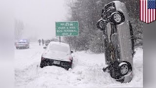 Blizzard 2017: A huge snowstorm is approaching the U.S — this is how blizzards form - TomoNews