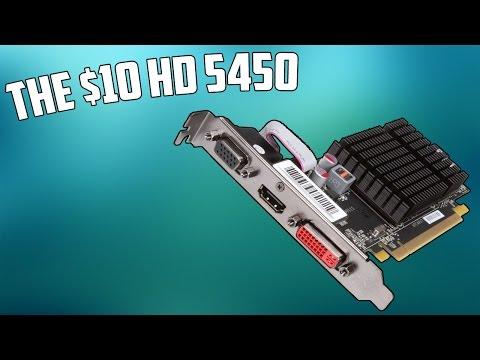 A 10 Radeon HD 5450 Vs Gaming