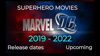 Upcoming SUPERHERO MOVIES DC and Marvel 2016 to 2020 with Release Dates | REALFAV