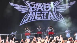 Doki Doki Morning - Babymetal live at Rock in Vienna, June 2015