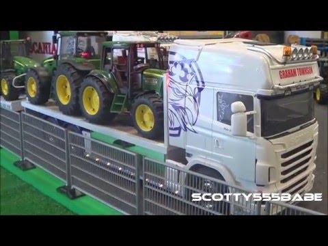 Rc Trucks Leyland June 2015 Tamiya Carson Wedico scaleART Scania