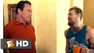 Conor McGregor: Notorious (2017) - Meeting Arnold Schwarzenegger Scene (2/10) | Movieclips