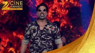 Akshay Kumar dance at zee awards 2014