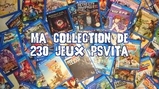 MA COLLECTION DE 230 JEUX PS VITA