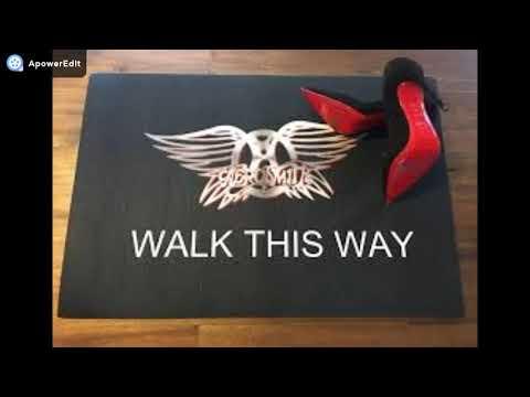 Aerosmith Run DMC Walk This Way Guitar Jam 2018