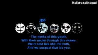 Hollywood Undead - Pain [Lyrics Video]