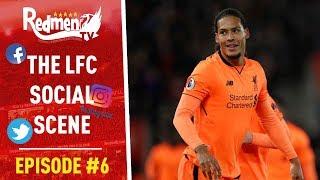 Virgil Van Dijk Trolls Man United | #LFC Social Scene