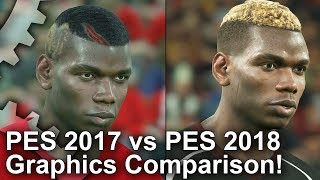 PES 2018 vs 2017 Graphics Comparison: Just How Much Better Is The New Game?