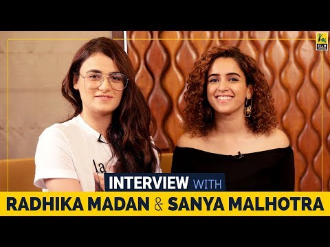 Xxx Mp4 Interview With Radhika Madan And Sanya Malhotra Sneha Menon Desai Film Companion 3gp Sex