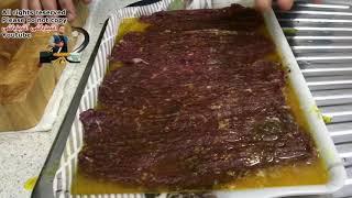 دیگه جایی نگید کباب برگ بلد نیستم سخته )؛ کباب برگ حرفه بدون سیخ کردن نرم پنبه ای (جوادجوادی )