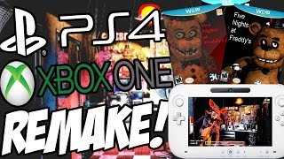 FNAF 1-4 CONSOLE REMAKE! | Five Nights at Freddys 1-4 On Nintendo NX? (NEW UPDATE)