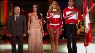 Baile inicial de Perú: Delly Madrid y Kervin Valdizán (Bailando por un Sueño 2CMDB 09-05-10)