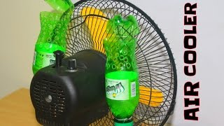 How to make Air Cooler at home using 3 plastic Bottle -Awesome idea 2
