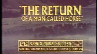 Return of a Man Called Horse 1976 TV trailer