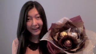 ✄DIY✄ ❤Valentine's Gift Idea❤ Ferrero Rocher Chocolate Flower Bouquet Tutorial + BLOOPERS!