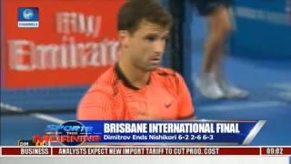 Sports This Morning: Analysing Brisbane International Final