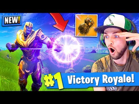 Xxx Mp4 NEW THANOS GAMEPLAY In Fortnite Battle Royale INFINITY GAUNTLET 3gp Sex