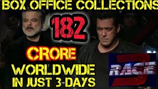 RACE 3 SMASHES 182 CRORES WORLDWIDE IN JUST 3 DAYS | BLOCKBUSTER | SALMAN KHAN