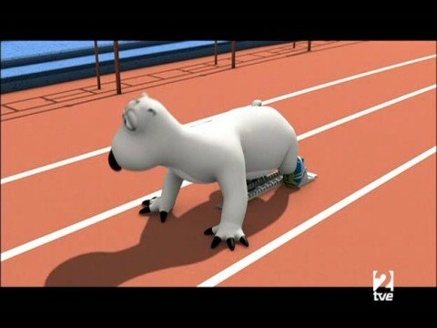 El oso Berni 1x34 Carrera de Velocidad