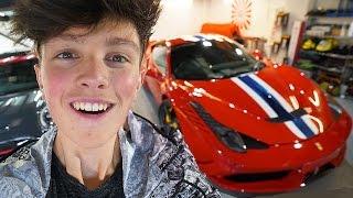 BUYING MY DREAM CAR AGED 15!! **FERRARI $500,000 NEW CAR**