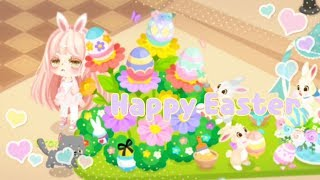 LINE Play - Happy Easter In The Disney Square