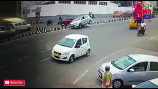 Banjarahills Road No. 3 accident exclusive visuals