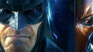 Batman Arkham Origins Trailer Batman vs Deathstroke