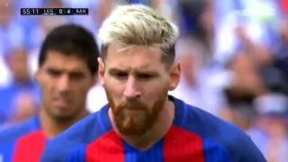 Lionel Messi : All 14 goals in La Liga 2016-17.