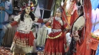 Gajab kar gayi haye braj ki radha II Jagran Jhanki Shree krishna #mahavir enclave