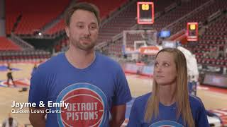 Quicken Loans® Teams Up with the Detroit Pistons to Make Dreams Come True | Quicken Loans