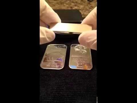 2 ways to spot a fake Silver bar