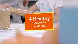 4 healthy recipes for your kids