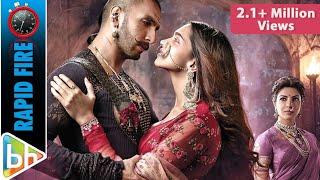 Bajirao Mastani | Ranveer Singh | Deepika Padukone's Hilarious Rapid Fire On SRK | Priyanka Chopra