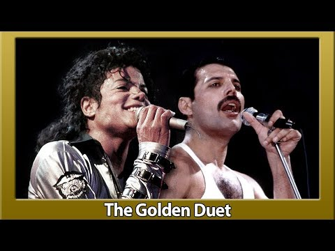 Freddie Mercury and Michael Jackson There Must Be More to Life Than This Video Clip Golden Duet