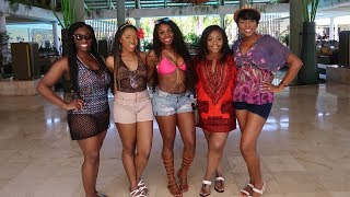 Nigerian Girls Take Over the Dominican Republic! PUNTA CANA VACATION VLOG Part 1