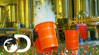 Ping Pong Ball Slow Motion Explosion | Street Science