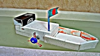 How to make an Electric Cargo Ship very easy - Making kids toy