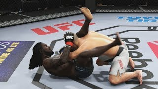 UFC 3 GOAT Career Mode - 1st Title Defense! EA Sports UFC 3 Gameplay PS4