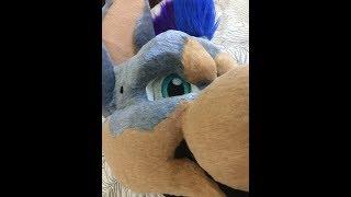 Doberman Fursuit Head Progress Video (2/2)