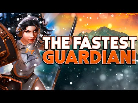 The Fastest Guardian You've Ever Seen Smite