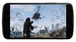 Grand Theft Auto V Android Gameplay