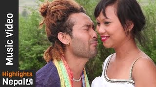 Comedy Saali by Devi Gharti Magar, Ram Prasad Gurung | New Nepali Lok Dohori Song 2017/2073