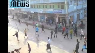 Chapainawabganj Kansat clash police v 20 party 05 01 2015