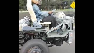 Extreme Driving! Truck Without Body