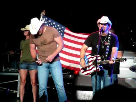 Toby Keith and Trace Adkins -