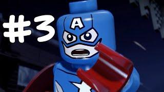 CAPTAIN AMERICA THE FIRST AVENGER! - LEGO Marvel's Avengers - Part 3(Türkçe Gameplay) HD