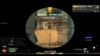 Mw2: PC OMFG 12 KillStreak Spawn Sniping, With Tripple and colat