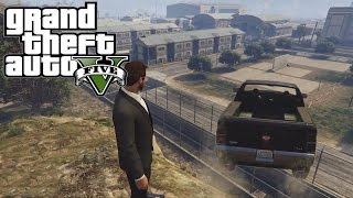 GTA V Online w/ Mark, Bob, and Jack: WE GOT A TANK!!!